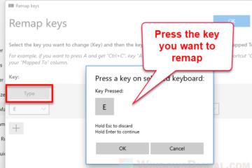 Reassign keyboard keys in Windows 11