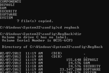 Registry fix BAD_SYSTEM_CONFIG_INFO Windows 10 BSOD