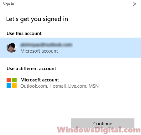 Relog windows store can't get apps