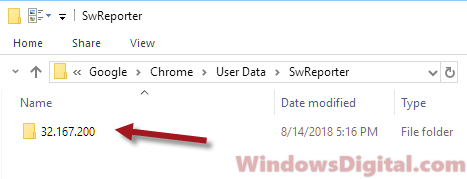 Remove Software_Reporter_Tool.exe Windows 10