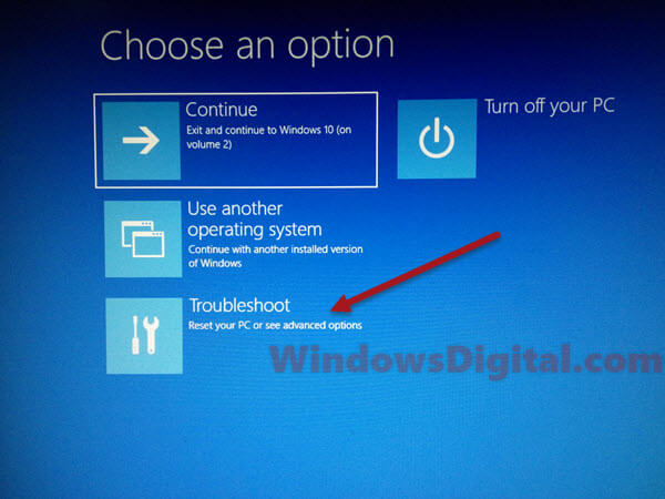 Roll back windows 10 update troubleshoot