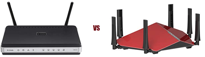 Router 100 Mbps vs 1 Gbps gigabit speed