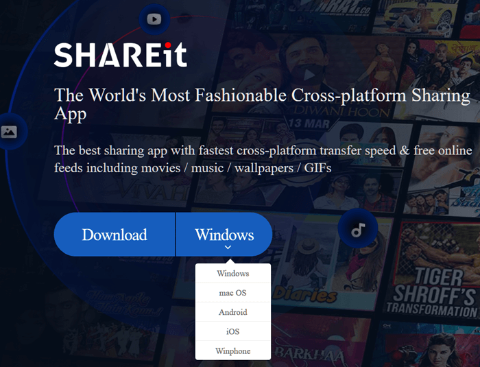SHAREit for PC Windows 10 64-bit Free Download Latest Version