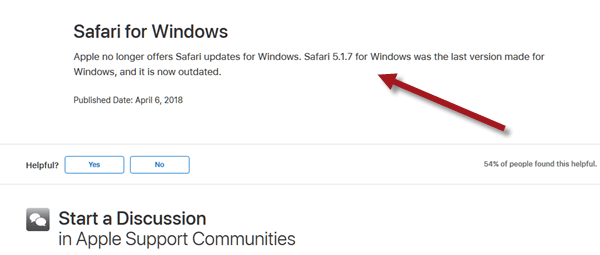 Safari Download for Windows 10 64 bit