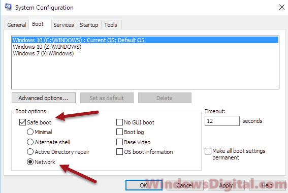 Safe boot Task Manager not responding