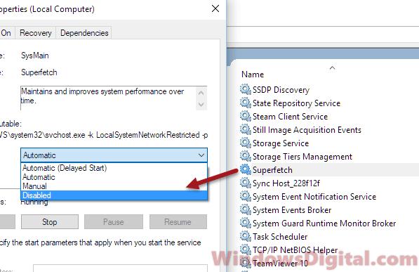 Service Host Local System High CPU Usage Windows 10