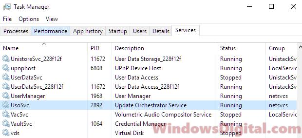 Service Host Local System High Disk Usage Windows 10