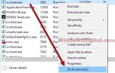 Service Host Local System High Memory Usage Windows 10