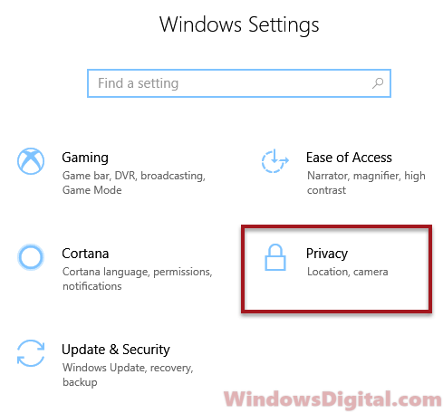 Settings privacy to clear timeline activity history