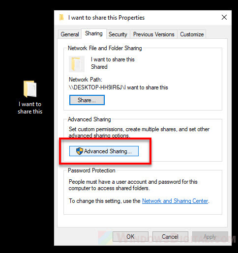 Share folder between Windows 10 PC and Android