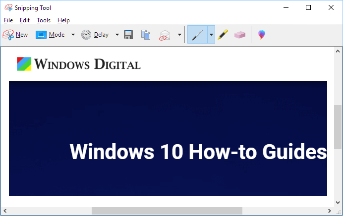 Snipping Tool Windows 10 Download