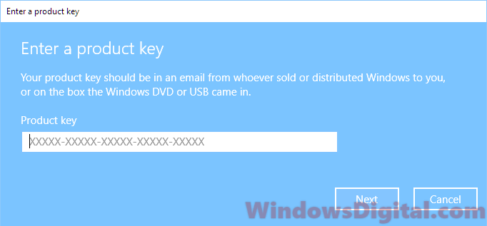 Windows 10 Digital License Product Key Transfer Reinstall
