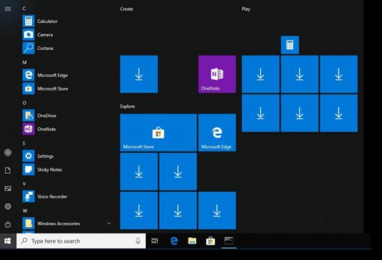 Windows 10 Lean edition