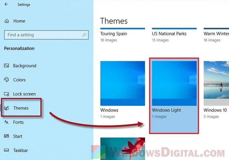 Windows 10 Light Theme Download