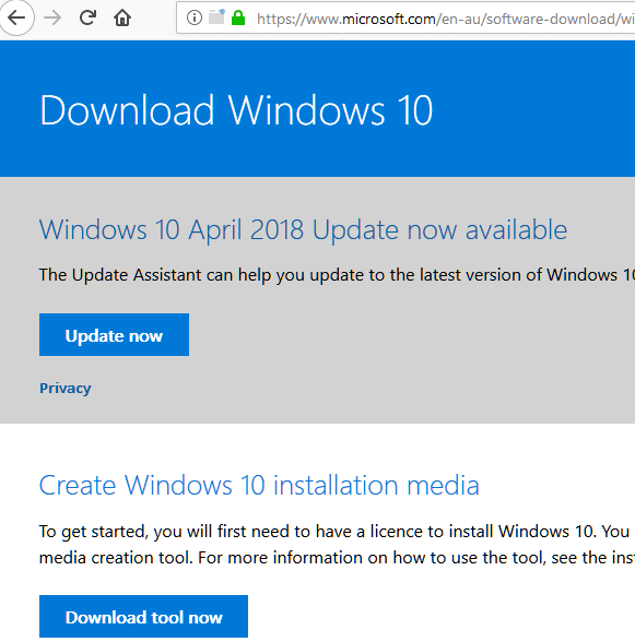 Windows 10 October 2018 Update 1809