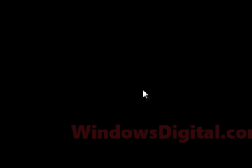 Windows 10 Update Black Screen With Cursor After Login