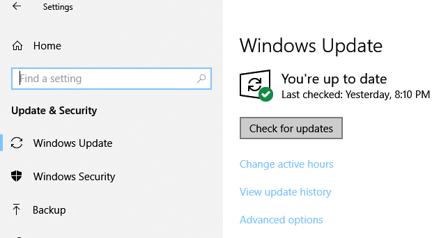 Windows 10 Version 1903 April May 2019 Update