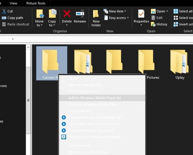 Windows 10 dark mode file explorer still white