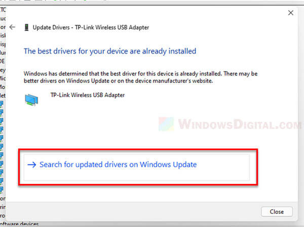 Windows 11 install update driver for WiFi network adapter printer USB Bluetooth device