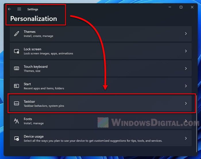 Windows 11 move taskbar to left
