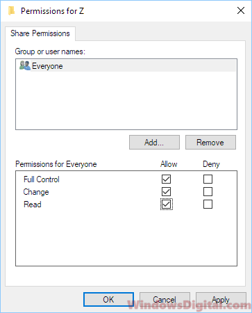 Windows Cannot Access Shared Folder Windows 10