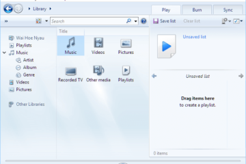 Windows Media Player missing from Windows 10