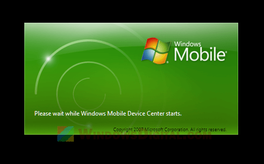 windows mobile device center 6.1 free download