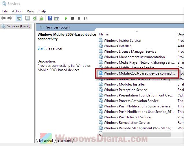 Windows Mobile Device Center Windows 10 Won't Open Fix
