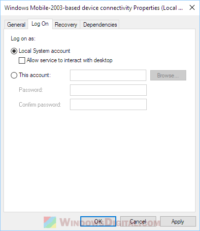 Windows Mobile Device Center Windows 10 hangs