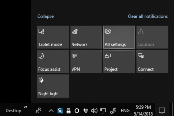 all settings turn off notification windows 10