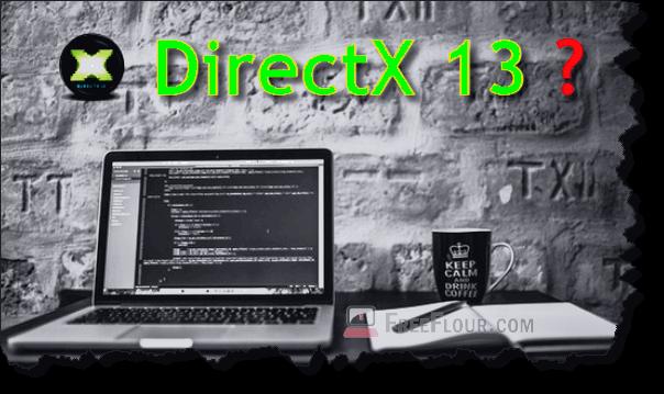 directX 13 download link offline installer