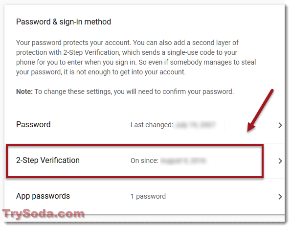 gmail google 2-step verification login