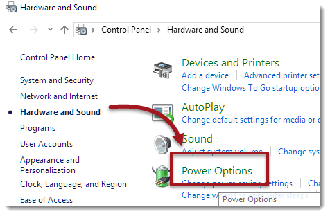 hardware and sound power options