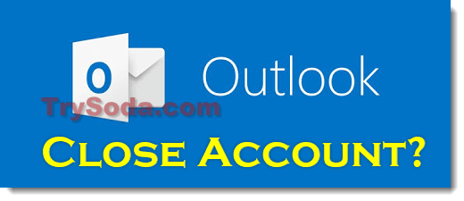 how to delete an outlook email account