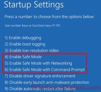 how to enter safe mode with command prompt