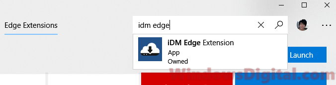 iDM Edge Extension Download
