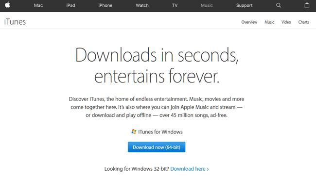 iTunes Free Download for Windows 10 64 bit PC Latest Version