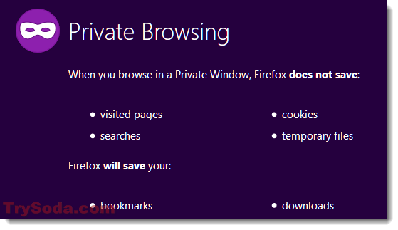private browsing in firefox for gmail login