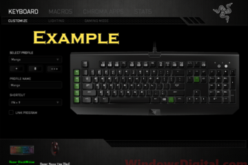 razer keyboard mouse not working after update windows 10