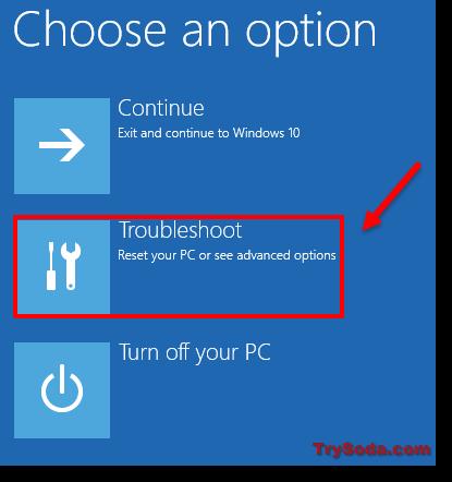 safe mode windows 10 troubleshoot
