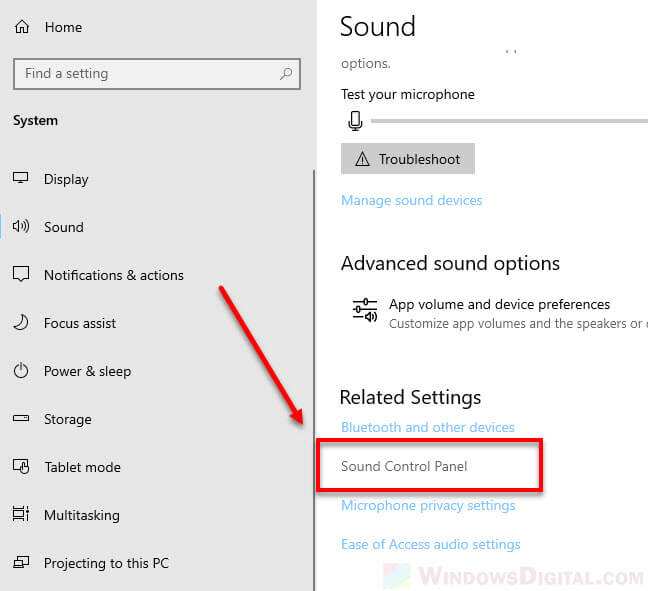 stereo mix not showing sound control panel windows 10