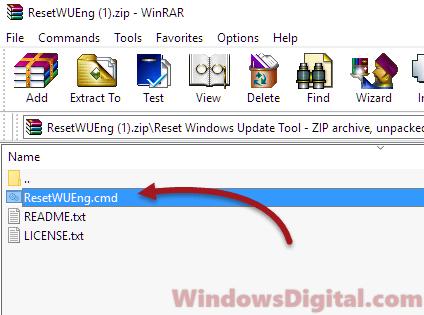 wureset to fix Windows 10 update error 0x80072ee7