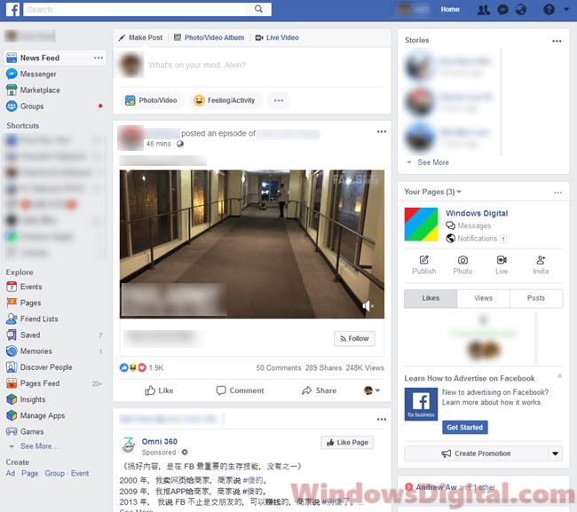 1 com login www facebook Facebook external